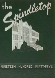 1955 Edition, South Park High School - Spindletop Yearbook (Beaumont, TX)