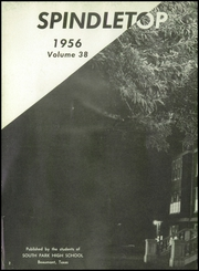 Page 6, 1956 Edition, South Park High School - Spindletop Yearbook (Beaumont, TX) online yearbook collection