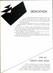 Page 10, 1962 Edition, South San Antonio High School - Cat Tale Yearbook (San Antonio, TX) online yearbook collection