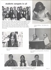 Page 17, 1972 Edition, South San Antonio High School - Cat Tale Yearbook (San Antonio, TX) online yearbook collection