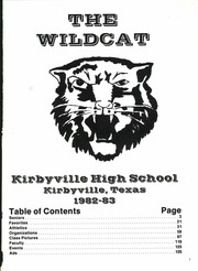 Page 5, 1983 Edition, Kirbyville High School - Wildcat Yearbook (Kirbyville, TX) online yearbook collection