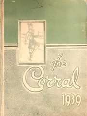 Page 1, 1939 Edition, Stephen F Austin Senior High School - Corral Yearbook (Houston, TX) online yearbook collection