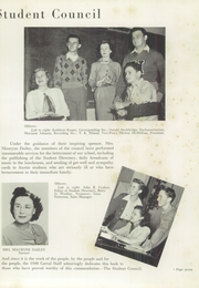 Page 11, 1948 Edition, Stephen F Austin Senior High School - Corral Yearbook (Houston, TX) online yearbook collection