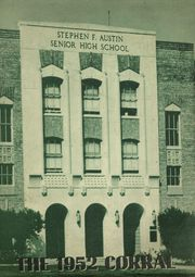 Page 1, 1952 Edition, Stephen F Austin Senior High School - Corral Yearbook (Houston, TX) online yearbook collection