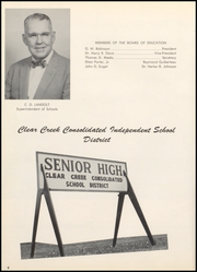 Page 10, 1960 Edition, Clear Creek High School - Den Yearbook (League City, TX) online yearbook collection