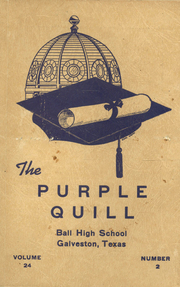 Page 1, 1947 Edition, Ball High School - Purple Quill Yearbook (Galveston, TX) online yearbook collection