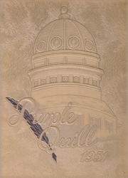 Ball High School - Purple Quill Yearbook (Galveston, TX) online yearbook collection, 1951 Edition, Page 1
