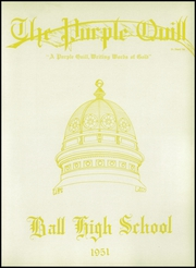 Page 7, 1951 Edition, Ball High School - Purple Quill Yearbook (Galveston, TX) online yearbook collection