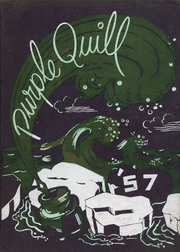 Ball High School - Purple Quill Yearbook (Galveston, TX) online yearbook collection, 1957 Edition, Page 1