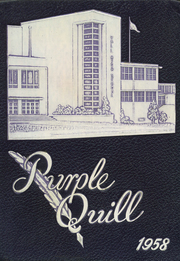 Ball High School - Purple Quill Yearbook (Galveston, TX) online yearbook collection, 1958 Edition, Page 1