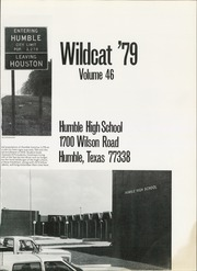 Page 5, 1979 Edition, Humble High School - Wildcat Yearbook (Humble, TX) online yearbook collection