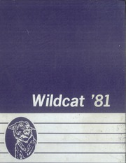 1981 Edition, Humble High School - Wildcat Yearbook (Humble, TX)