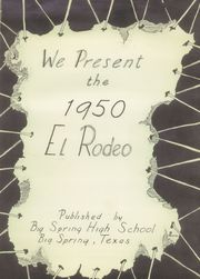 Page 5, 1950 Edition, Spring High School - Roar Yearbook (Spring, TX) online yearbook collection
