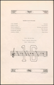Page 14, 1916 Edition, Bryan High School - Saga Yearbook (Bryan, TX) online yearbook collection
