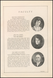 Page 17, 1921 Edition, Bryan High School - Saga Yearbook (Bryan, TX) online yearbook collection
