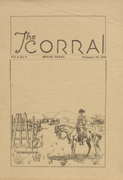Page 1, 1924 Edition, Bryan High School - Saga Yearbook (Bryan, TX) online yearbook collection