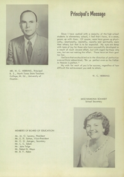 Page 11, 1952 Edition, Cypress Fairbanks High School - Bobcat Yearbook (Cypress, TX) online yearbook collection