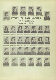 Page 15, 1952 Edition, Cypress Fairbanks High School - Bobcat Yearbook (Cypress, TX) online yearbook collection