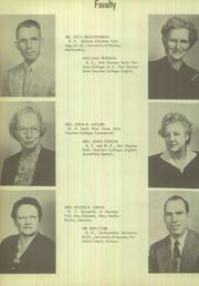 Page 16, 1952 Edition, Cypress Fairbanks High School - Bobcat Yearbook (Cypress, TX) online yearbook collection