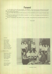 Page 8, 1952 Edition, Cypress Fairbanks High School - Bobcat Yearbook (Cypress, TX) online yearbook collection