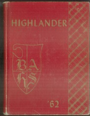 Bel Air High School - Highlander Yearbook (El Paso, TX) online yearbook collection, 1962 Edition, Page 1