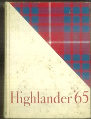Bel Air High School - Highlander Yearbook (El Paso, TX) online yearbook collection, 1965 Edition, Page 1