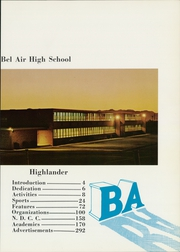 Page 7, 1966 Edition, Bel Air High School - Highlander Yearbook (El Paso, TX) online yearbook collection