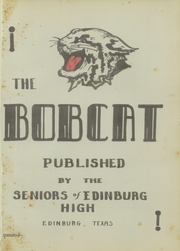 Page 5, 1940 Edition, Edinburg High School - Bobcat Yearbook (Edinburg, TX) online yearbook collection