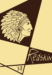 1958 Edition, Harlandale High School - Redskin Yearbook (San Antonio, TX)