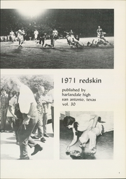 Page 5, 1971 Edition, Harlandale High School - Redskin Yearbook (San Antonio, TX) online yearbook collection