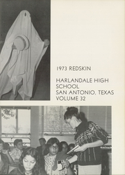 Page 5, 1973 Edition, Harlandale High School - Redskin Yearbook (San Antonio, TX) online yearbook collection