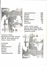 Page 5, 1979 Edition, Brazoswood High School - Treasure Chest Yearbook (Clute, TX) online yearbook collection