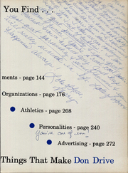 Page 7, 1964 Edition, Palo Duro High School - Conquistador Yearbook (Amarillo, TX) online yearbook collection