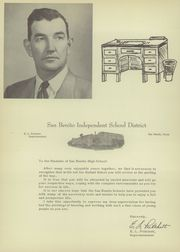 Page 12, 1952 Edition, San Benito High School - El Sendero Yearbook (San Benito, TX) online yearbook collection
