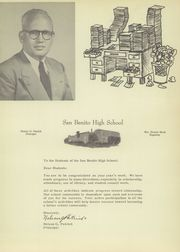 Page 13, 1952 Edition, San Benito High School - El Sendero Yearbook (San Benito, TX) online yearbook collection