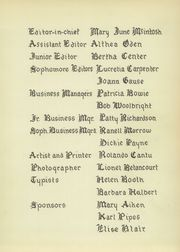 Page 7, 1952 Edition, San Benito High School - El Sendero Yearbook (San Benito, TX) online yearbook collection