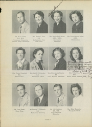 Page 16, 1945 Edition, Luther Burbank High School - Bark Yearbook (San Antonio, TX) online yearbook collection