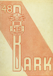 1948 Edition, Luther Burbank High School - Bark Yearbook (San Antonio, TX)