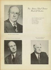 Page 14, 1951 Edition, Luther Burbank High School - Bark Yearbook (San Antonio, TX) online yearbook collection