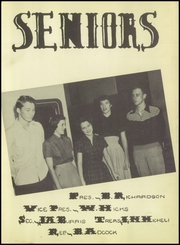 Page 13, 1952 Edition, Seguin High School - Matador Yearbook (Seguin, TX) online yearbook collection