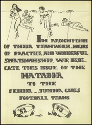 Page 5, 1952 Edition, Seguin High School - Matador Yearbook (Seguin, TX) online yearbook collection