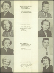 Page 14, 1951 Edition, Angleton High School - Angle Yearbook (Angleton, TX) online yearbook collection