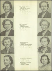 Page 16, 1951 Edition, Angleton High School - Angle Yearbook (Angleton, TX) online yearbook collection