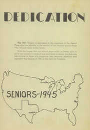 Page 9, 1945 Edition, Tomball High School - Cougar Yearbook (Tomball, TX) online yearbook collection