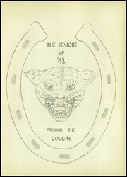 Page 5, 1948 Edition, Tomball High School - Cougar Yearbook (Tomball, TX) online yearbook collection