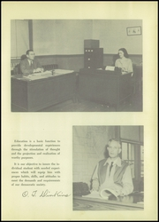 Page 9, 1948 Edition, Tomball High School - Cougar Yearbook (Tomball, TX) online yearbook collection