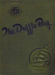 1951 Edition, Roy Miller High School - Duffle Bag Yearbook (Corpus Christi, TX)