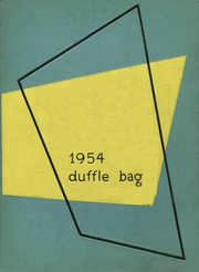1954 Edition, Roy Miller High School - Duffle Bag Yearbook (Corpus Christi, TX)