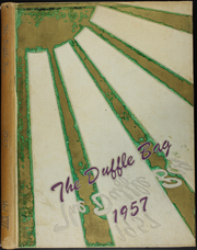 1957 Edition, Roy Miller High School - Duffle Bag Yearbook (Corpus Christi, TX)