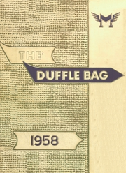 1958 Edition, Roy Miller High School - Duffle Bag Yearbook (Corpus Christi, TX)
